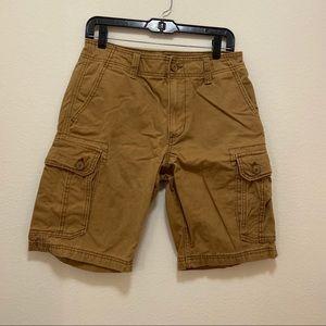 Dark Khaki Shorts